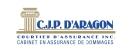 C.J.P. D'Aragon, Courtier d'assurances